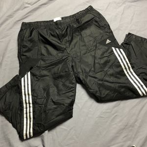 Vintage ADIDAS Lined Track Pants Jogger 3M Reflect